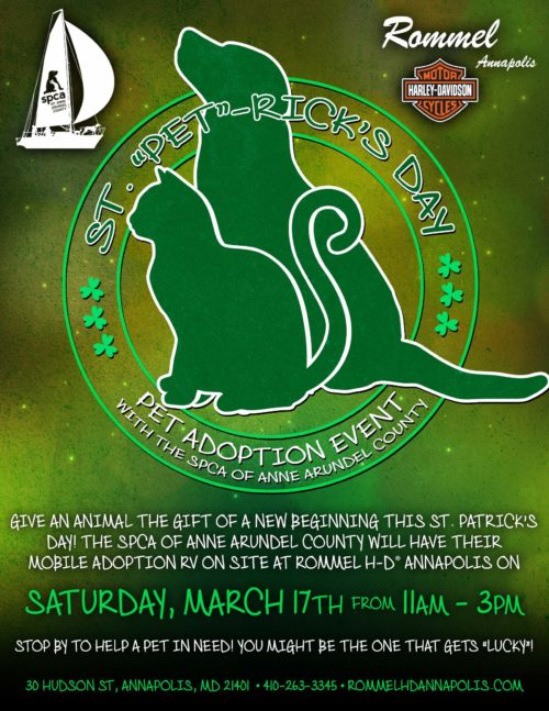 """St. """"Pet""""-Rick's Day – March 17"""