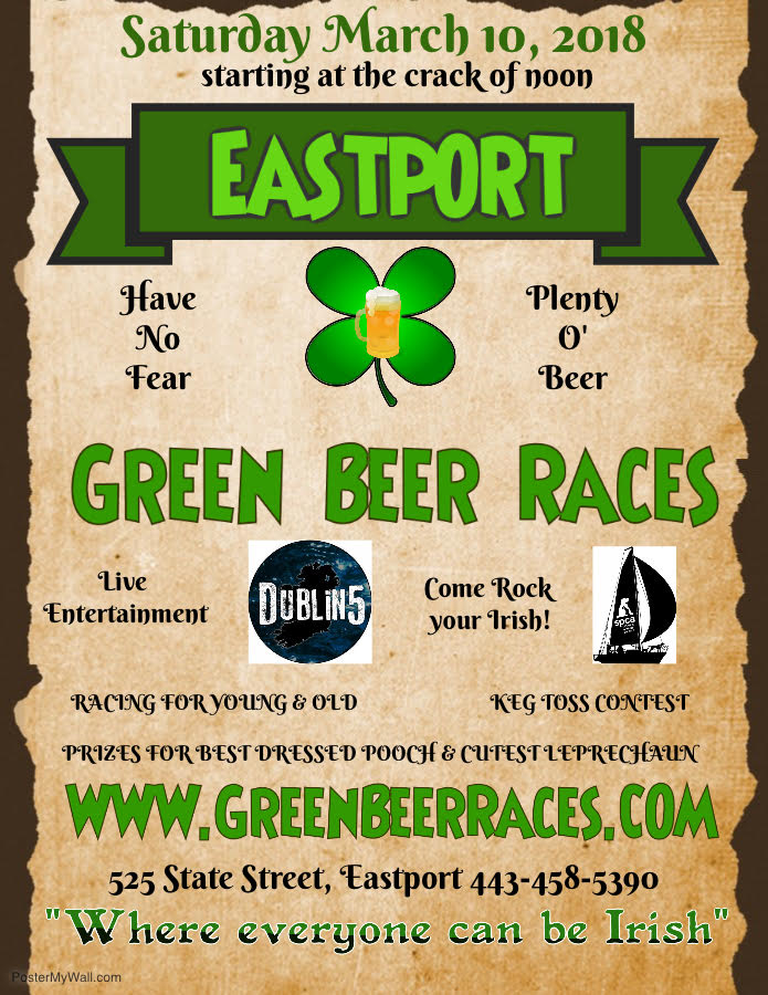 Green Beer Races – March 10