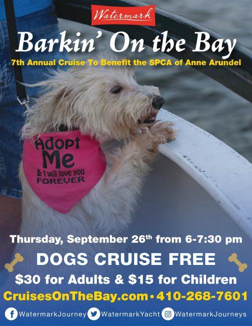 Barkin' On The Bay Cruise – 9/26