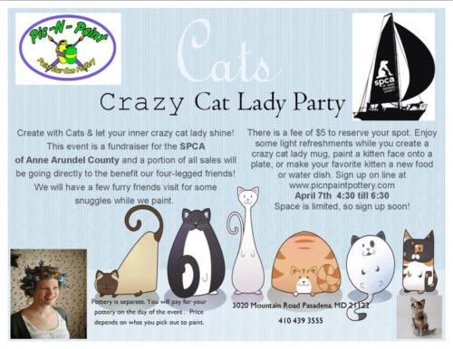 Crazy Cat Lady Party – April 7