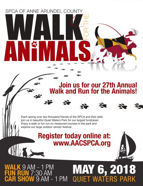 Walk For The Animals – May 6
