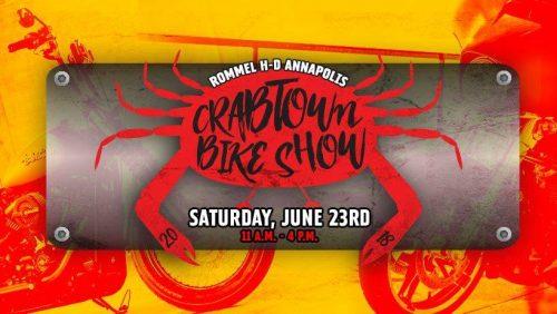 Crabtown Bike Show – June 23