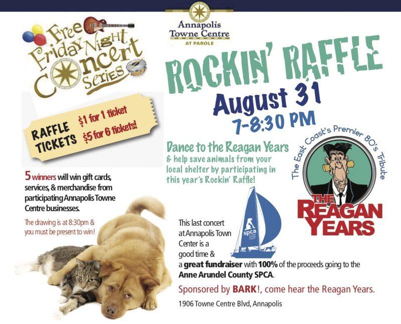 Rockin' Raffle – Aug 31