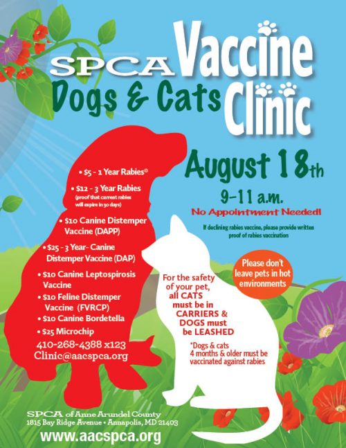 Vaccine Clinic – August 18