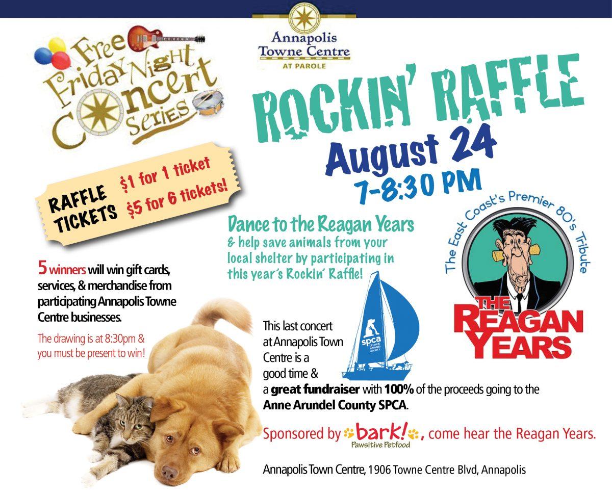 Rockin' Raffle – Aug 24