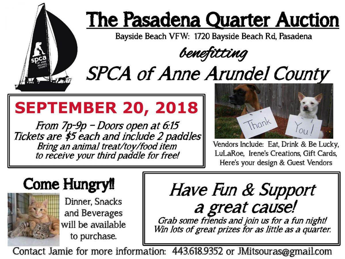 Pasadena Quarter Auction – 9/20