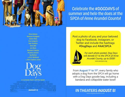 #DogDays with SPCA – Aug 1-11