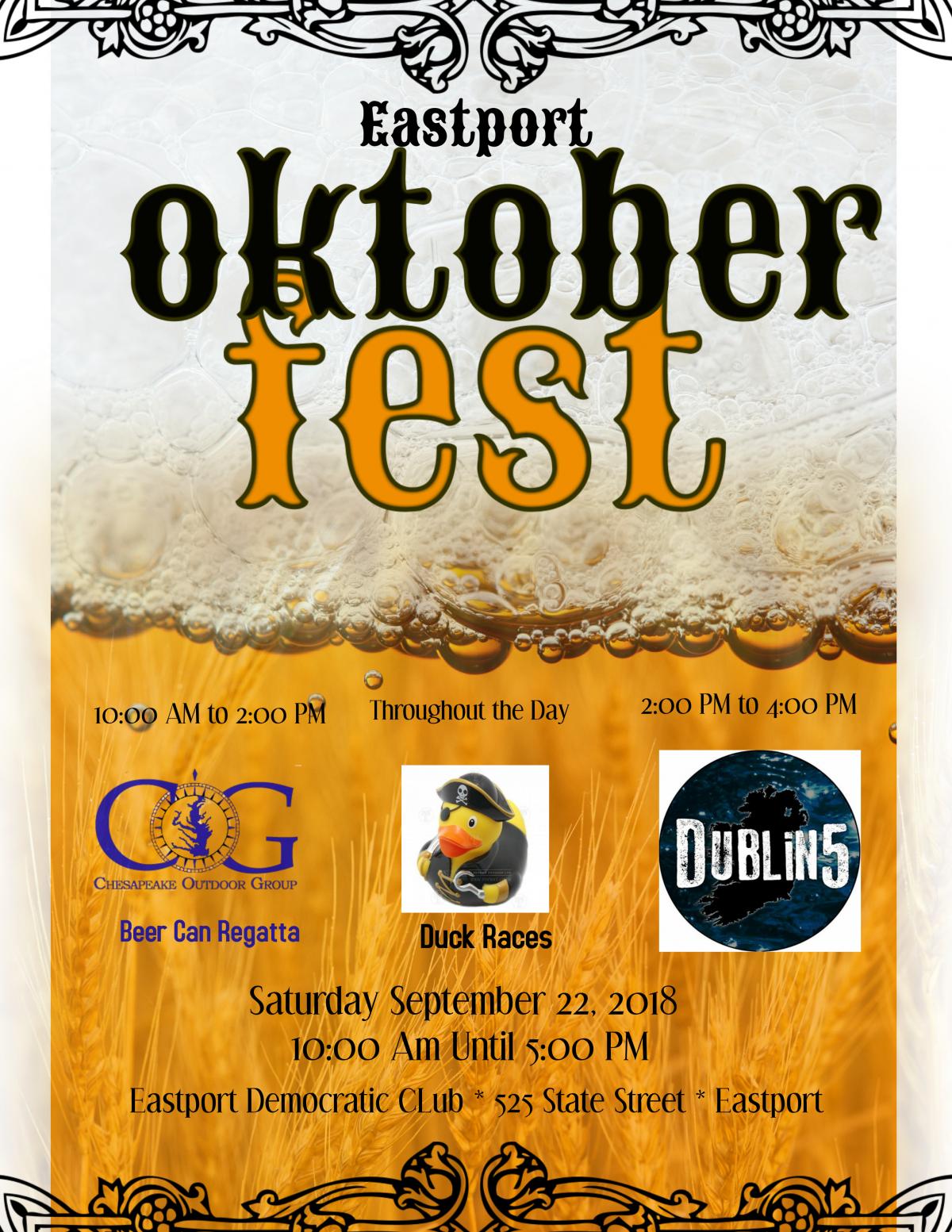 Oktober Fest – 9/22
