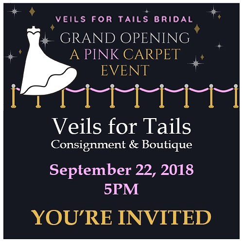 Veils for Tails – 9/22