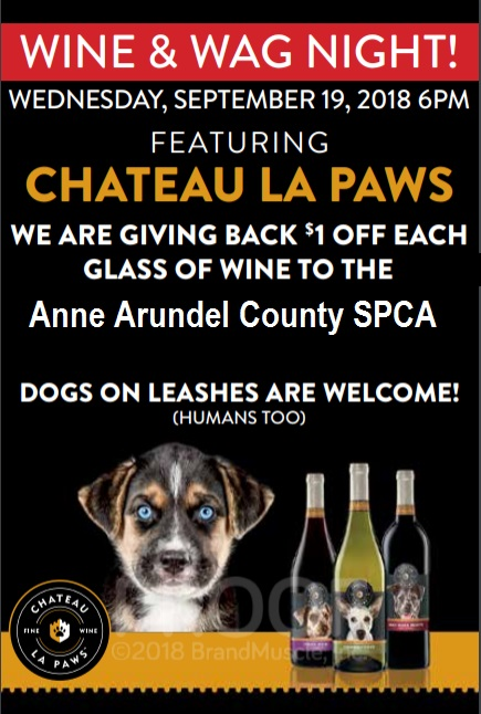 Wine and Wag – Sept 19