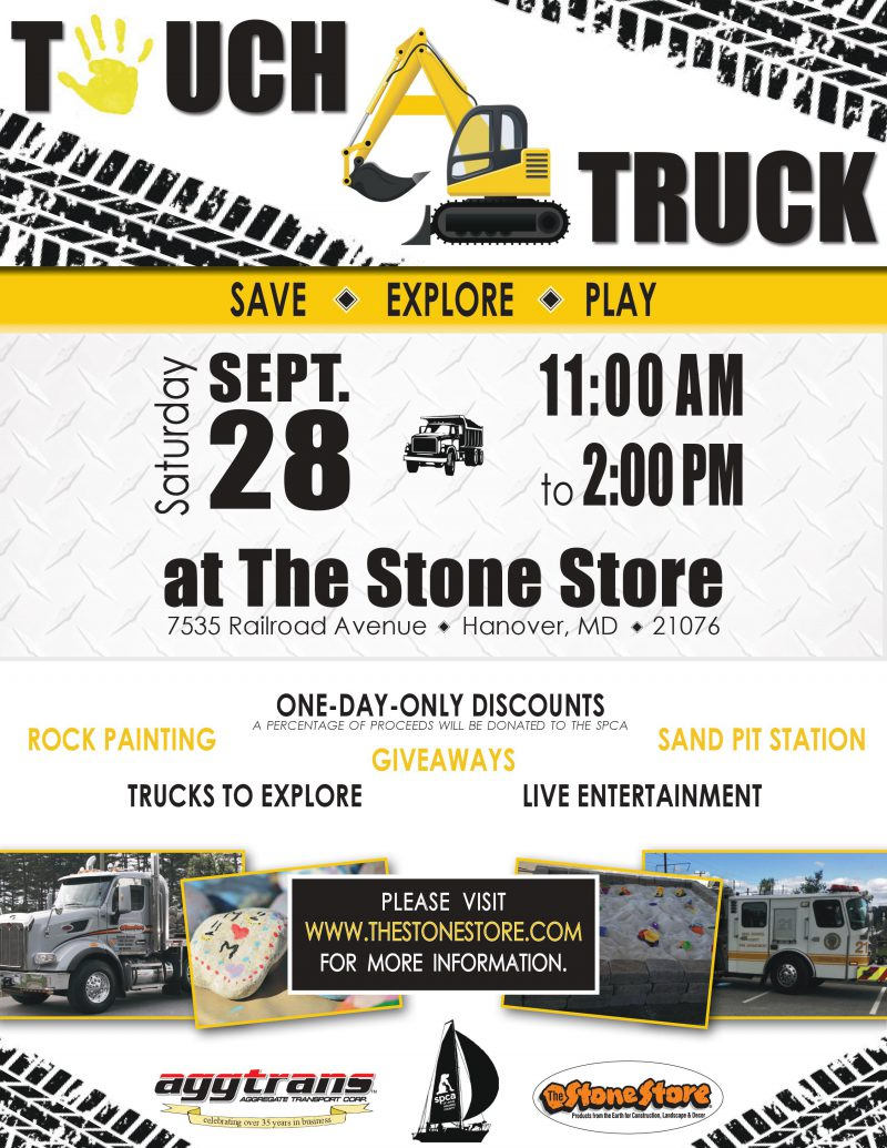Touch-A-Truck – 9/28