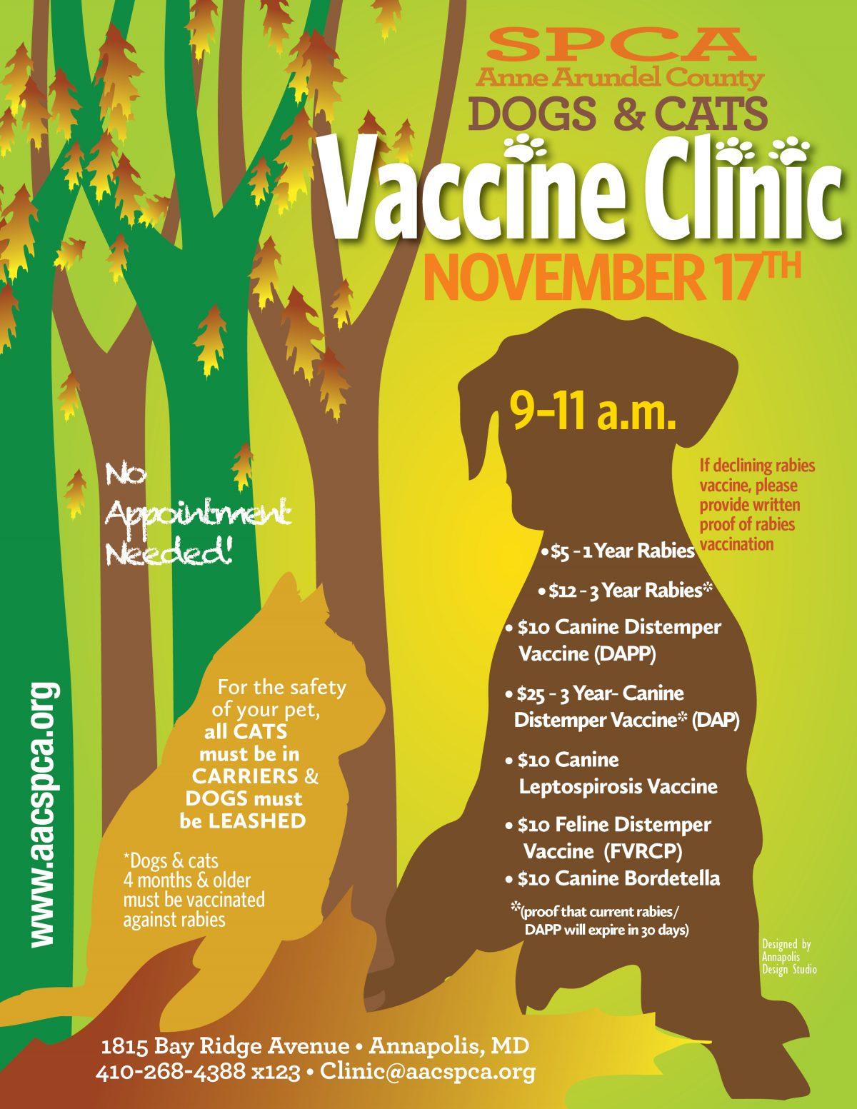 Vaccine Clinic – 11/17