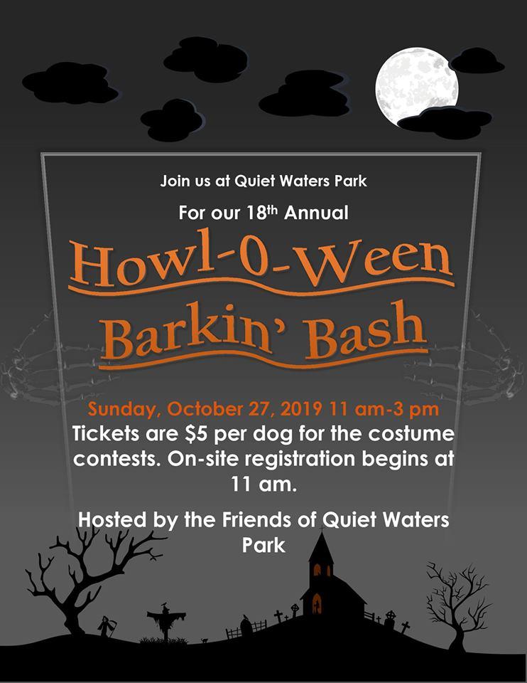 Howl-O-Ween Barkin' Bash – 10/27