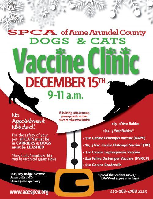 Vaccine Clinic – 12/15