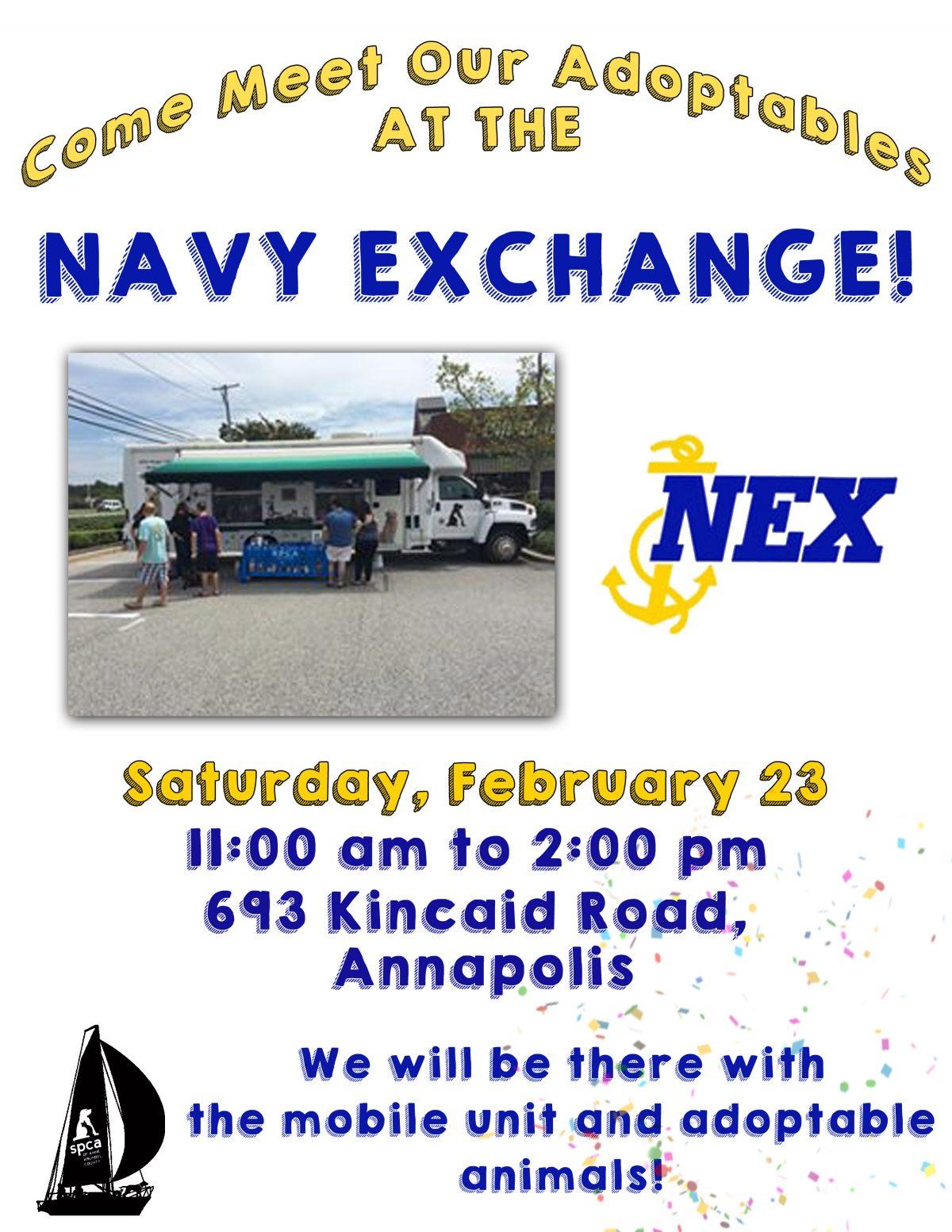Navy Exchange – 2/23