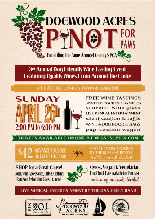 Pinot For Paws – 4/26