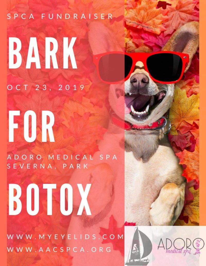 Bark for Botox – 10/23