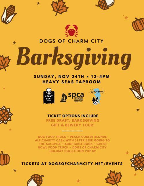 Barksgiving – 11/24