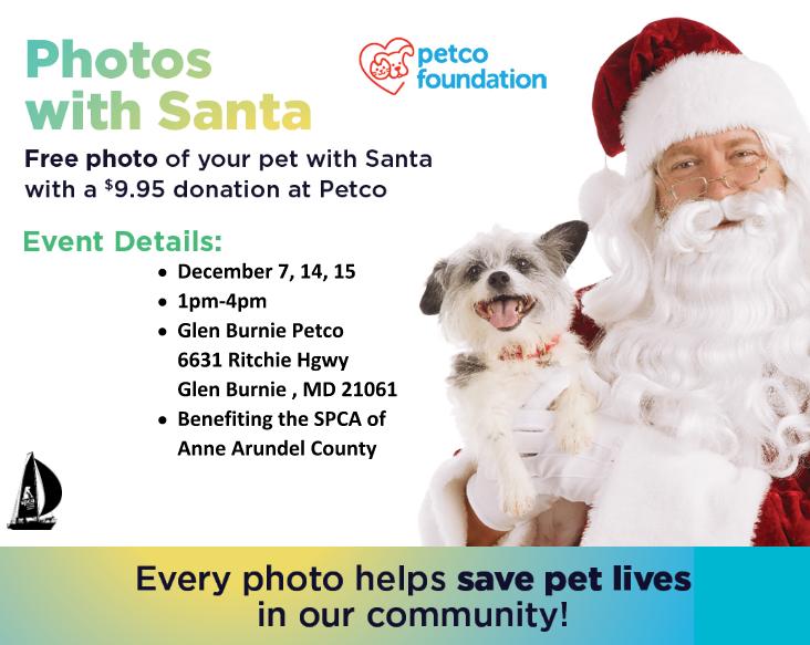 Santa at Petco – 12/7, 14 – 15