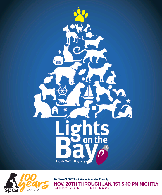 Anne Arundel County Christmas Help 2020 2020 Lights on the Bay Sponsorships now available! – SPCA of Anne