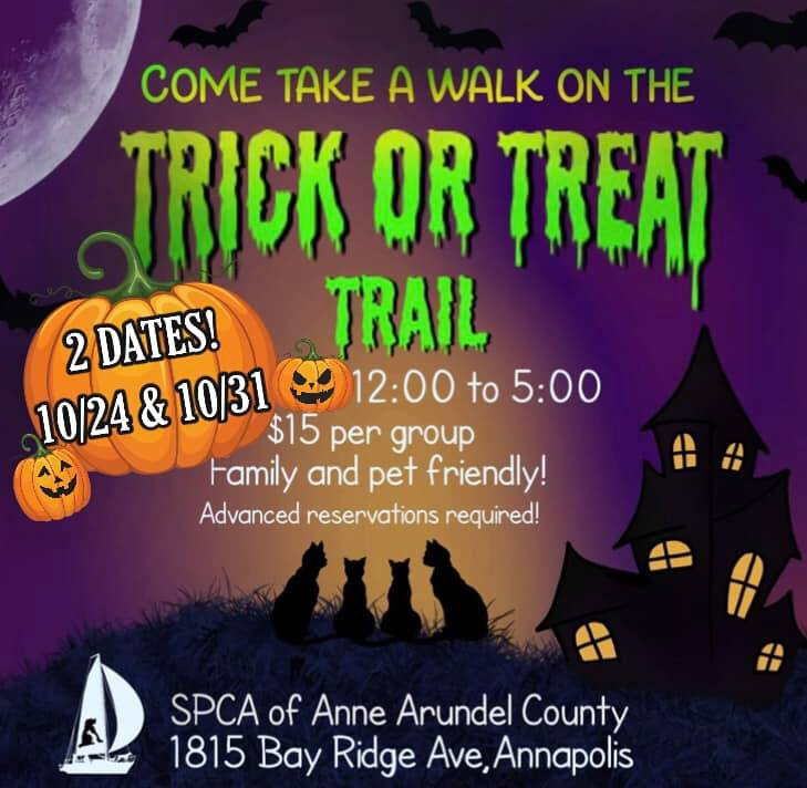 Trick or Treat Trail – 10/31