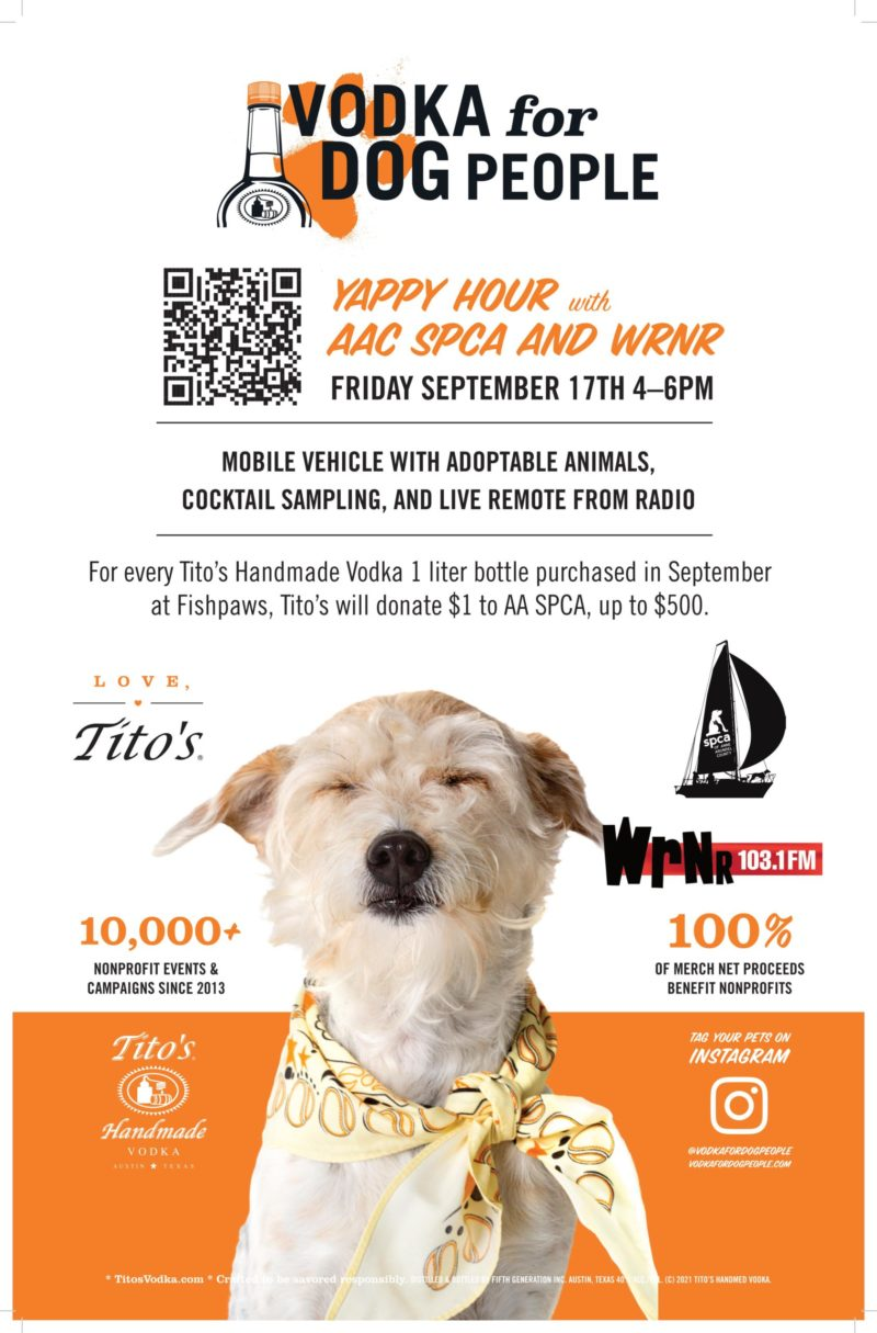Upcoming Yappy Hours – 9/17 & 9/24