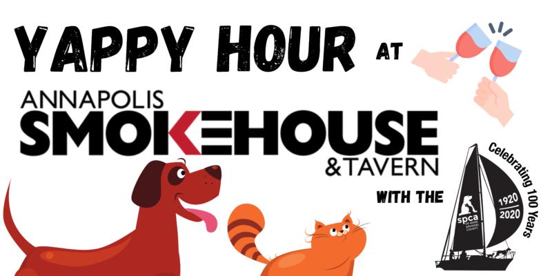 Annapolis Smokehouse Yappy Hour – 9/24