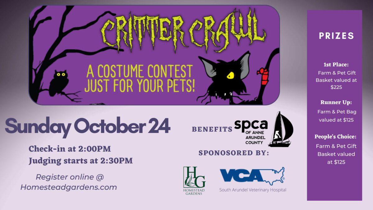 Critter Crawl – 10/24